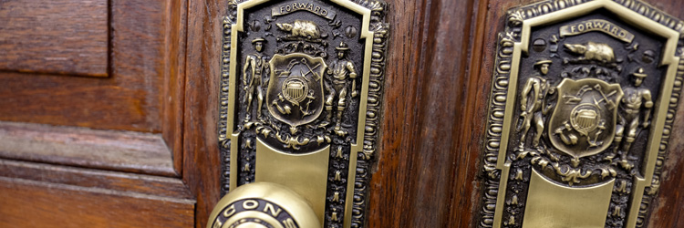 State Capitol door knobs